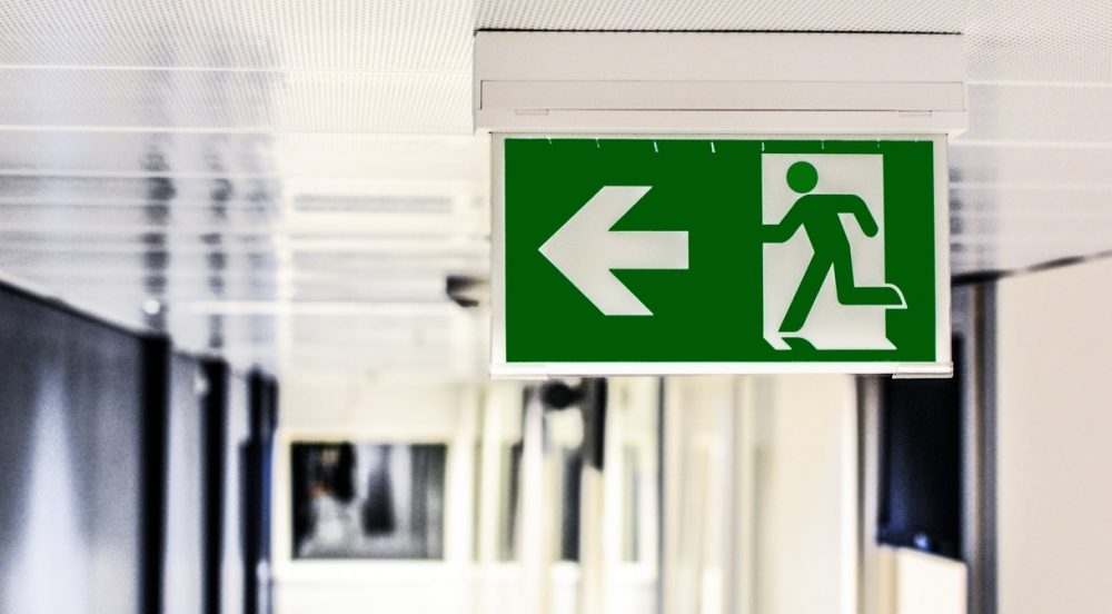 QLD Work Health and Safety Law-blog-exit-sign